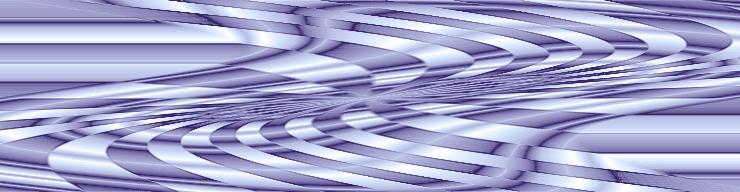 Light colored lavender ribbon header art