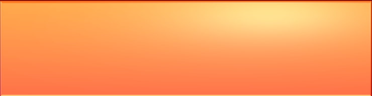 Simply orange blog header background