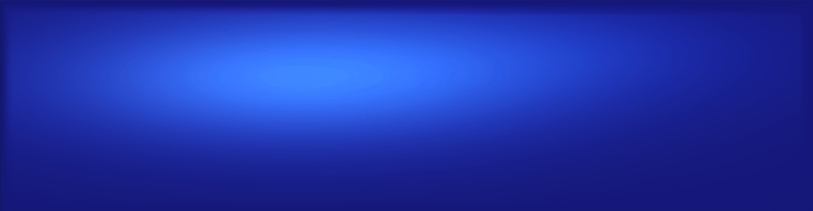 Bright blue blog header background