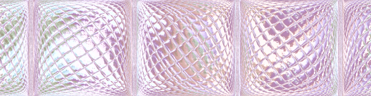 pink glass blocks