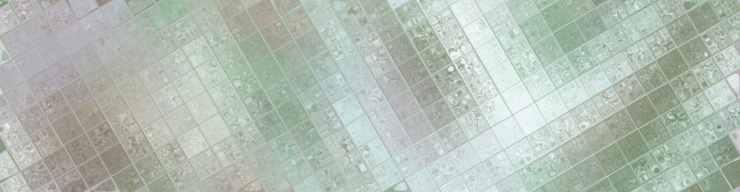 Muted water color tiles