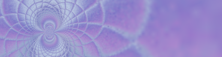 Header art in purple
